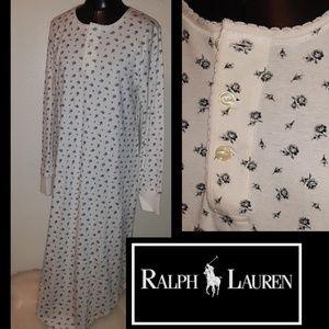 New!🌹 Ralph Lauren Black Rose PJ's!🌹